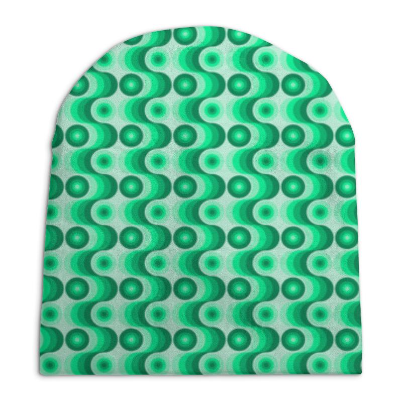 Printio Ретро #1 шапка унисекс с полной запечаткой printio круги
