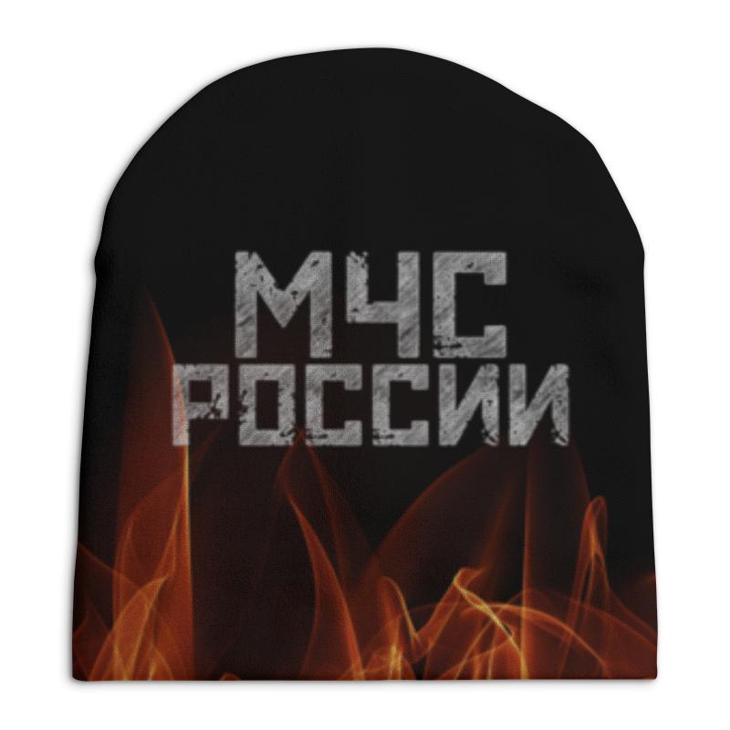 Шапка унисекс с полной запечаткой Printio Мчс россии футболка с полной запечаткой мужская printio мчс россии