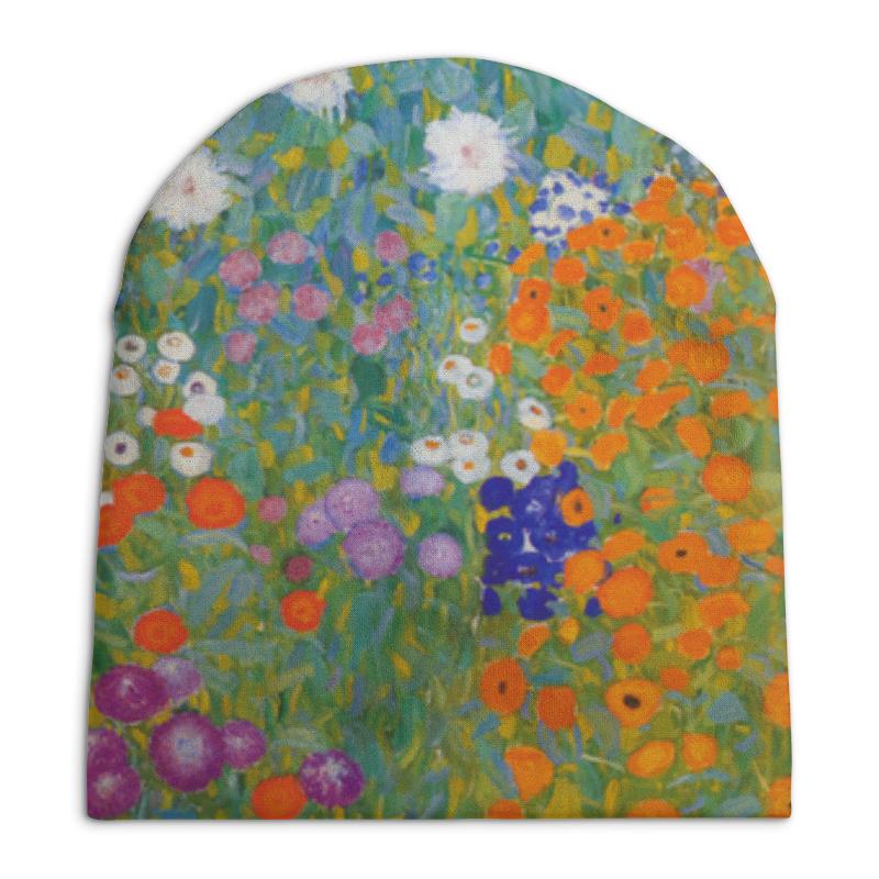 Шапка унисекс с полной запечаткой Printio Цветочный сад (густав климт) шапка унисекс с полной запечаткой printio цветочный рай