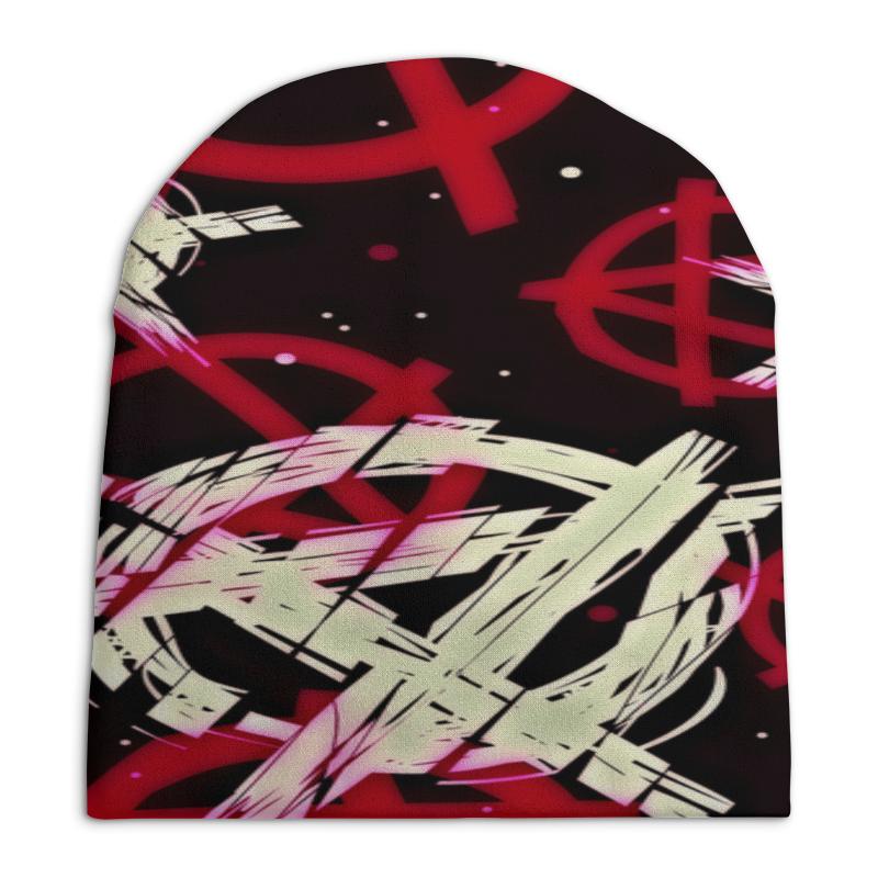 Шапка унисекс с полной запечаткой Printio Анархия поло print bar анархия