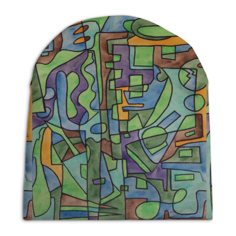 Шапка унисекс с полной запечаткой Printio W`zzzzcx`90.1 юбка в складку printio w zzzzcx 90 1