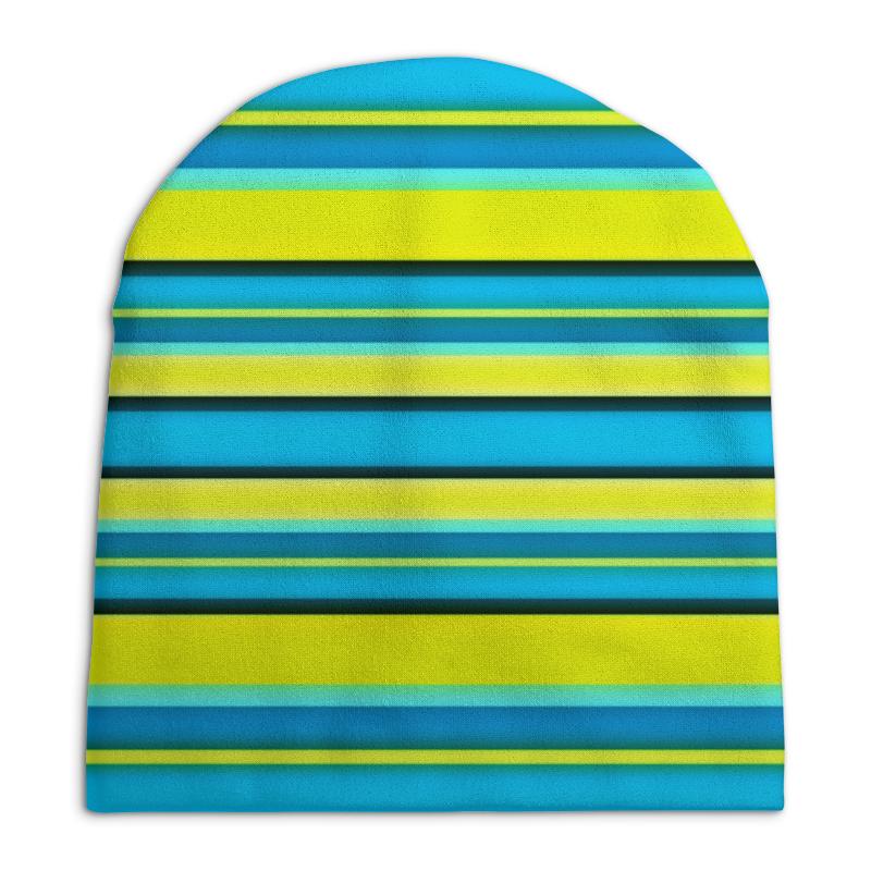 Шапка унисекс с полной запечаткой Printio Яркие линии шапка унисекс с полной запечаткой printio спиннер