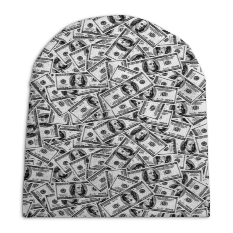 Шапка унисекс с полной запечаткой Printio Доллар цена