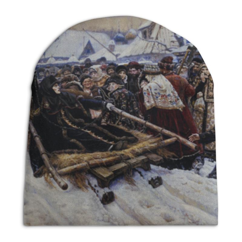 Шапка унисекс с полной запечаткой Printio Боярыня морозова (василий суриков) рюкзак с полной запечаткой printio искушение христа василий суриков