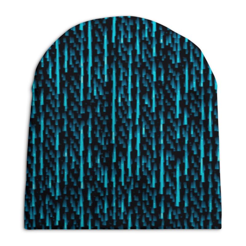 Шапка унисекс с полной запечаткой Printio Абстрактный узор шапка унисекс с полной запечаткой printio спиннер