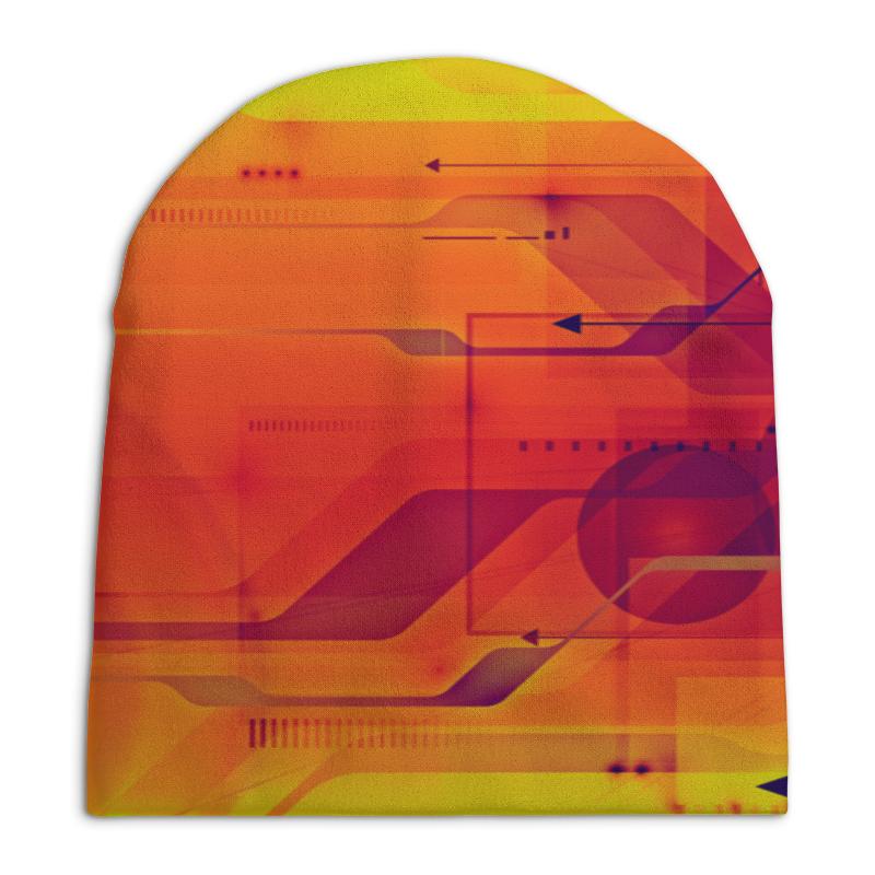 Шапка унисекс с полной запечаткой Printio Узор абстрактный шапка унисекс с полной запечаткой printio геометрический узор