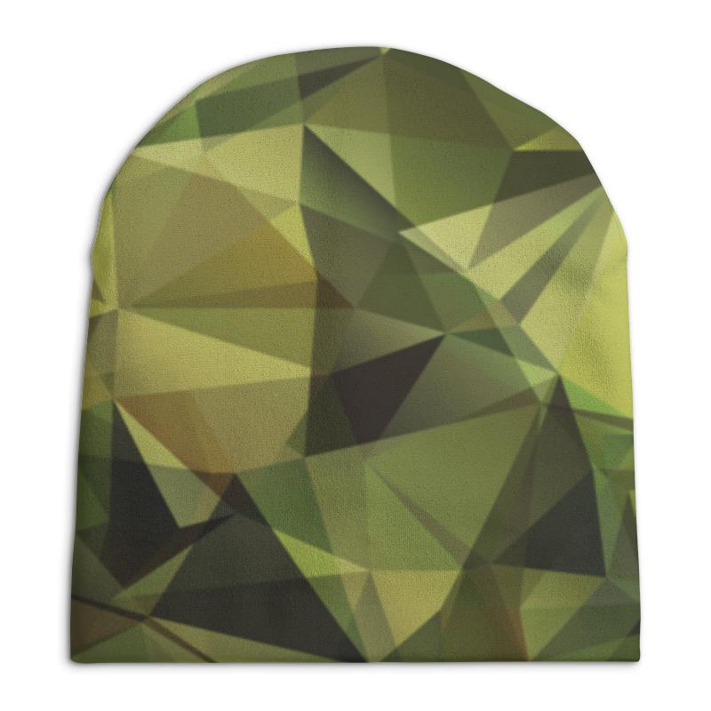 Шапка унисекс с полной запечаткой Printio Камуфляж printio шапка унисекс с полной запечаткой