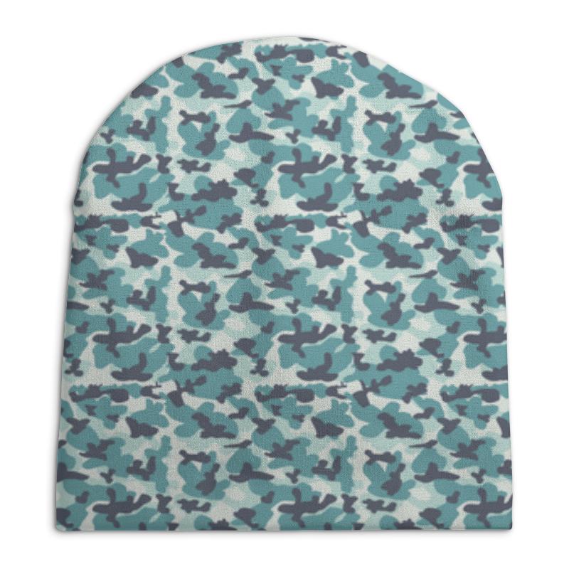 Шапка унисекс с полной запечаткой Printio Современный  камуфляж шапка унисекс с полной запечаткой printio спиннер