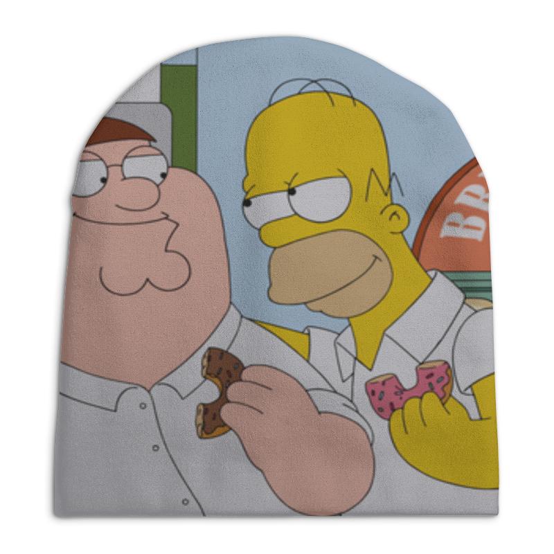 Фото - Шапка унисекс с полной запечаткой Printio Peter and homer peter hadley sport футболка