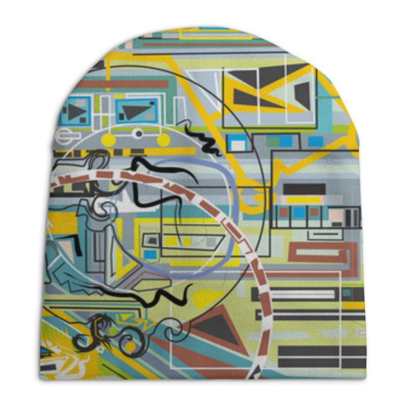 Шапка унисекс с полной запечаткой Printio Березка кроватка скв березка 120119 бежевый