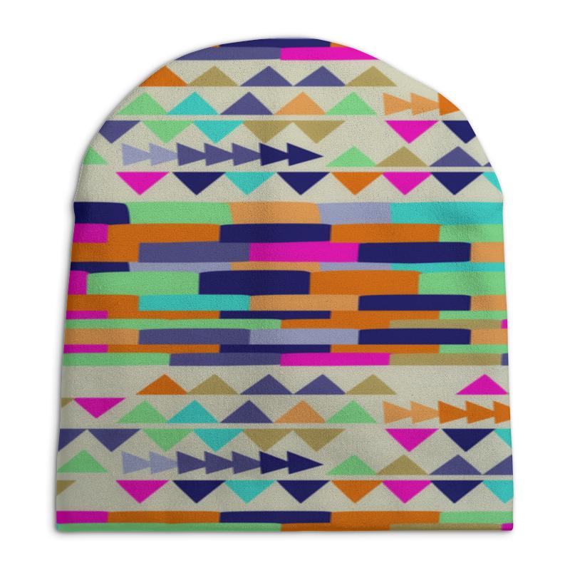 Шапка унисекс с полной запечаткой Printio Графические узоры шапка унисекс с полной запечаткой printio спиннер