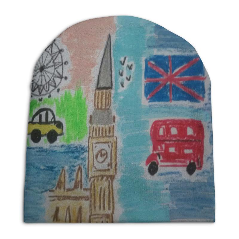 Шапка унисекс с полной запечаткой Printio Лондон рюмина с кватро великобритания лондон увлекательная прогулка isbn 978 5 906882 55 4