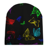 """Шапка унисекс с полной запечаткой """"Butterflies"""" - бабочки, лето, весна"""