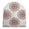 """Шапка унисекс с полной запечаткой """"Орнамент в стиле росписи хной"""" - орнамент, мандала, этнический, индийский, мехенди"""