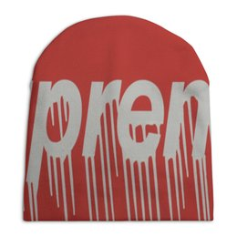 "Шапка унисекс с полной запечаткой ""Шапка SUPREME "" - шапка, supreme"