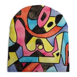 """Шапка унисекс с полной запечаткой """"ttt`12ll"""" - арт, узор, абстракция, фигуры, текстура"""
