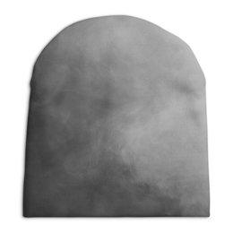 """Шапка унисекс с полной запечаткой """"Затуманенный мозг"""" - дым, vape, туман"""