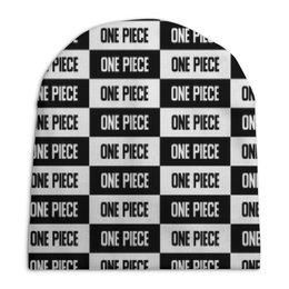 """Шапка унисекс с полной запечаткой """"One Piece"""" - надписи, аниме, бренд, one piece, ван-пис"""