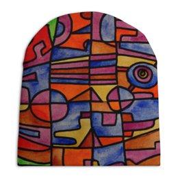 """Шапка унисекс с полной запечаткой """"nj2]0-=-.'11"""" - арт, узор, абстракция, фигуры, текстура"""