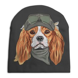 """Шапка унисекс с полной запечаткой """"Собака"""" - собака"""