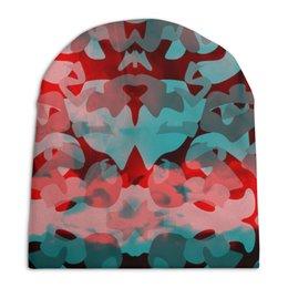 """Шапка унисекс с полной запечаткой """"Камуфляж"""" - узор, пятна, краски, абстракция, камуфляж"""
