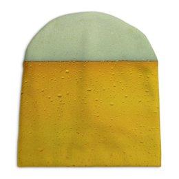 """Шапка унисекс с полной запечаткой """"Beerman"""" - пиво, пивная, пивной"""