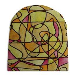"""Шапка унисекс с полной запечаткой """"bdbd--;12"""" - арт, узор, абстракция, фигуры, текстура"""