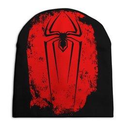 """Шапка унисекс с полной запечаткой """"Человек паук"""" - человек паук"""