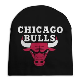 "Шапка унисекс с полной запечаткой ""Чикаго Буллз"" - чикаго буллз, chicago bulls, баскетбол, спорт"