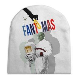"""Шапка унисекс с полной запечаткой """"Фантомас"""" - кино, супергерой, superhero, фантомас, fantomas"""