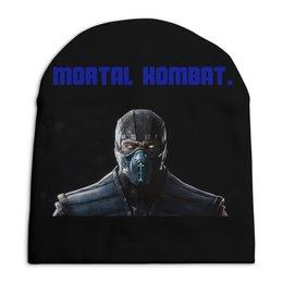 """Шапка унисекс с полной запечаткой """"Mortal Kombat. """" - игра, герои, кино, головной убор"""