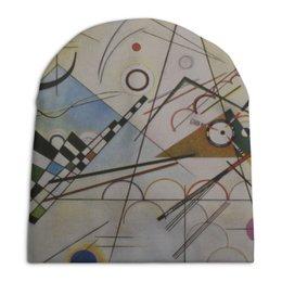 """Шапка унисекс с полной запечаткой """"Композиция VIII (Composition No 8) (Кандинский)"""" - картина, кандинский"""