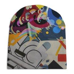 """Шапка унисекс с полной запечаткой """"Абстракционизм"""" - картина, живопись, супрематизм, абстракционизм, орфизм"""