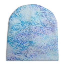 """Шапка унисекс с полной запечаткой """"Пастельные оттенки"""" - мода, fashion, blue, pastel, пастель"""