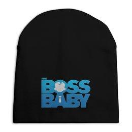 """Шапка унисекс с полной запечаткой """"Босс-молокосос / The Boss Baby"""" - мультфильм, рисунок, кино, малыш, босс"""
