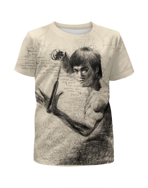 Футболка с полной запечаткой для мальчиков Printio Bruce lee футболка с полной запечаткой для девочек printio bruce willis