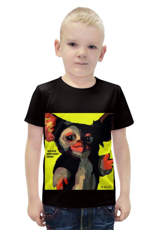 Футболка с полной запечаткой для мальчиков Printio Гизмо футболка с полной запечаткой для мальчиков printio bats spawn arsb