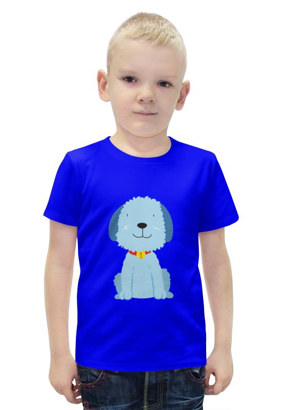 Футболка с полной запечаткой для мальчиков Printio Щенок футболка с полной запечаткой для девочек printio щенок