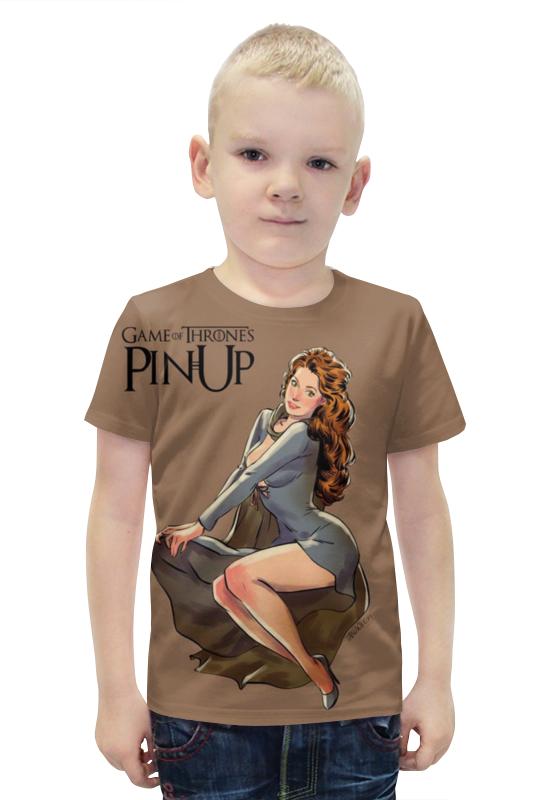 Футболка с полной запечаткой для мальчиков Printio Пин-ап футболка с полной запечаткой для мальчиков printio slove arsb