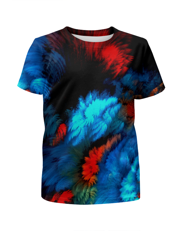 Футболка с полной запечаткой для мальчиков Printio Всплеск красок футболка с полной запечаткой для девочек printio всплеск красок