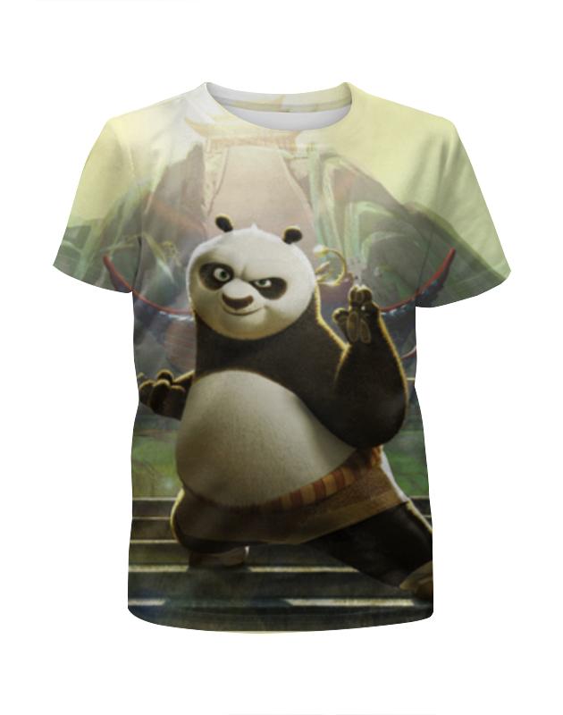 Футболка с полной запечаткой для мальчиков Printio Кун-фу панда футболка с полной запечаткой для девочек printio панда
