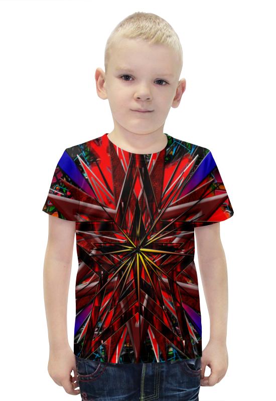 Футболка с полной запечаткой для мальчиков Printio Звезда футболка с полной запечаткой для мальчиков printio bats spawn arsb