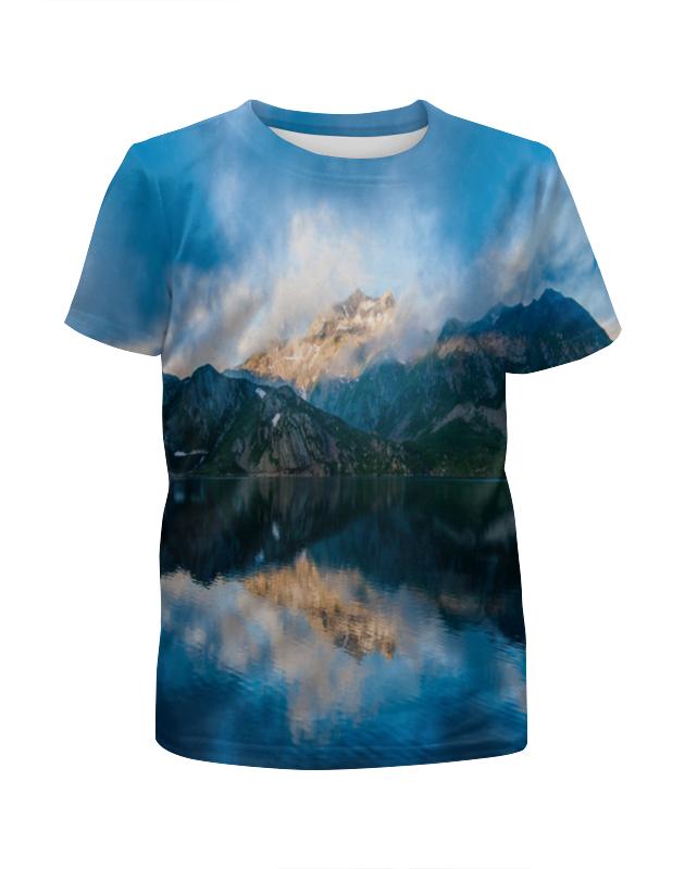 Printio Пейзаж гор футболка с полной запечаткой женская printio the icknield way спенсер гор