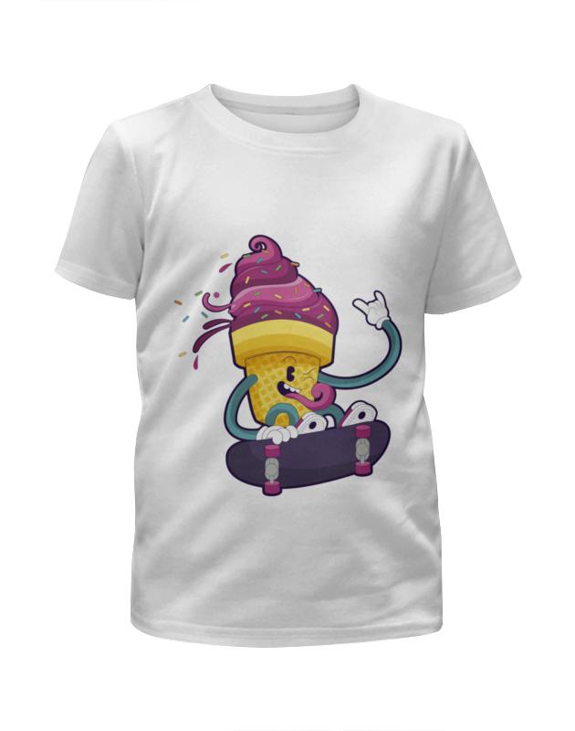 Футболка с полной запечаткой для мальчиков Printio Мятежное мороженое футболка с полной запечаткой для мальчиков printio bats spawn arsb