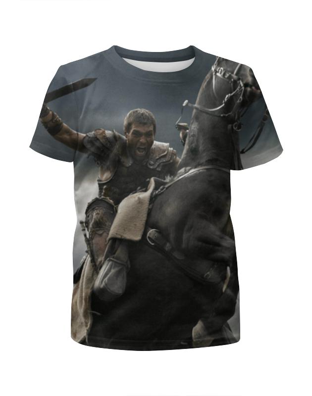 Футболка с полной запечаткой для мальчиков Printio Спартак / spartacus футболка с полной запечаткой для девочек printio спартак spartacus