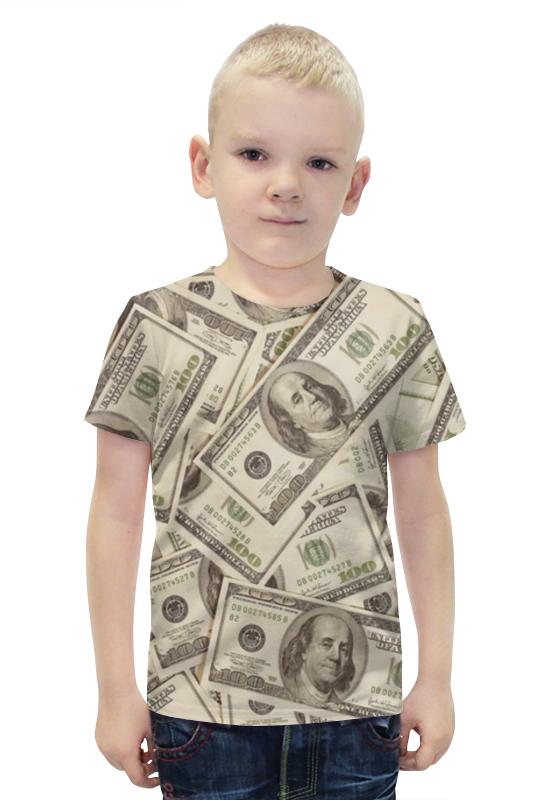 Футболка с полной запечаткой для мальчиков Printio Деньги (доллары)