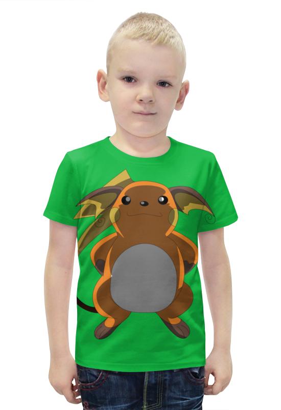 Футболка с полной запечаткой для мальчиков Printio Райчу футболка с полной запечаткой для мальчиков printio bats spawn arsb