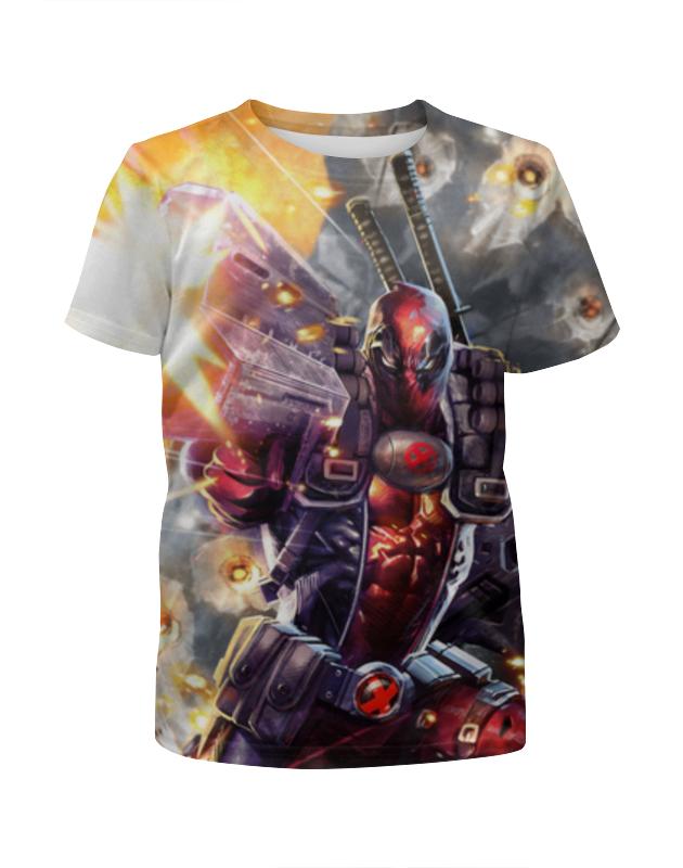 Футболка с полной запечаткой для мальчиков Printio Deadpool футболка с полной запечаткой для мальчиков printio deadpool