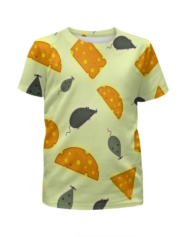 Футболка с полной запечаткой для мальчиков Printio Мышь и сыр футболка с полной запечаткой для девочек printio мышь и сыр