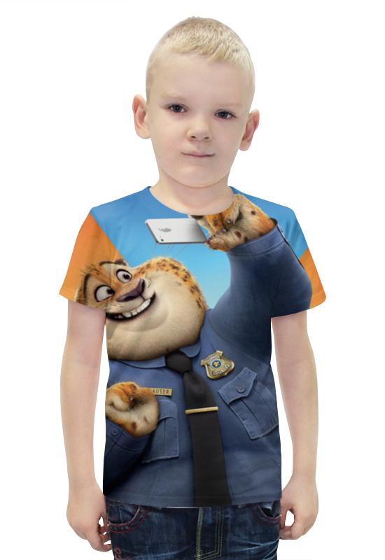 Футболка с полной запечаткой для мальчиков Printio Когтяузер футболка с полной запечаткой для мальчиков printio bats spawn arsb